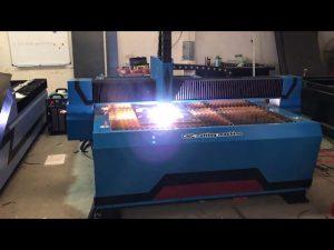 حار بيع التصنيع باستخدام الحاسب الآلي آلة قطع البلازما المعدنية / بيع البلازما القاطع