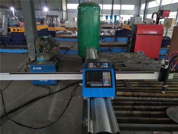 رخيصة الثمن المحمولة cnc آلة قطع الغاز ل الصفائح المعدنية