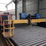الصين كبيرة szie cnc جسرية لهب البلازما آلة القطع