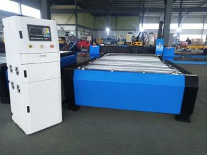 الصين التصنيع باستخدام الحاسب الآلي آلة قطع البلازما فرط 125A ورقة معدنية سميكة 65A 85A 200A اختياري jbt-1530