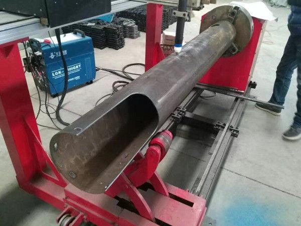 تناوب رمح CNC دائرة أنبوب منخفضة التكلفة آلة قطع البلازما CNC