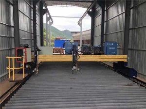 ألواح الصلب 1500x3000mm حجم التصنيع باستخدام الحاسب الآلي آلة قطع الصفائح المعدنية البلازما