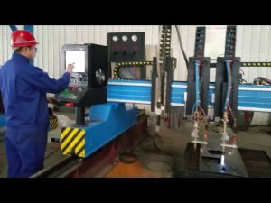 الثقيلة العملاقة التصنيع باستخدام الحاسب الآلي آلة قطع البلازما تصنيع المعادن الآلي