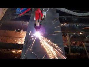 منخفضة التكلفة cnc آلة قطع البلازما الحديد قضيب آلة قطع دائرة آلة القطع
