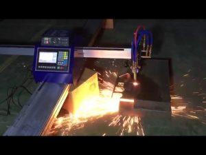 منخفضة التكلفة البسيطة المحمولة cnc الأنابيب لهب آلة قطع البلازما لقطع المعدن المقاوم للصدأ