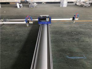 آلة قطع البلازما لهب التصنيع باستخدام الحاسب الآلي المحمولة