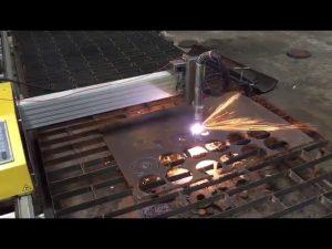 التصنيع باستخدام الحاسب الآلي المحمولة آلة قطع الشعلة مع 45 درجة الحرارة